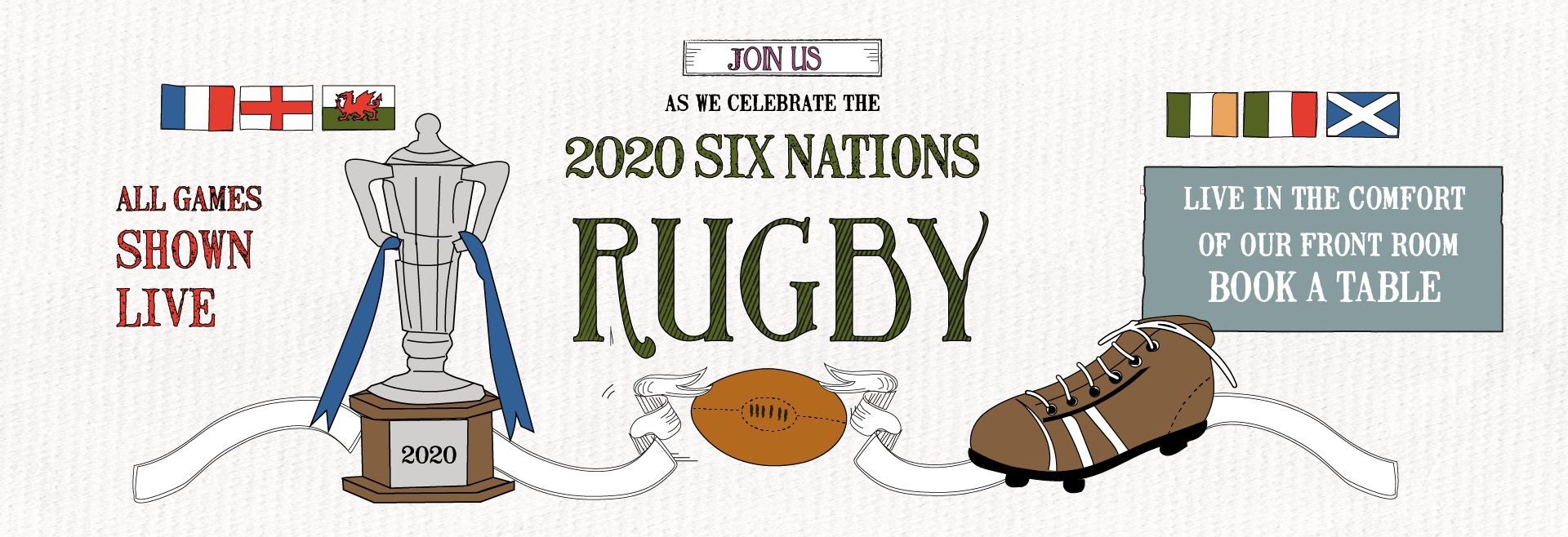 6 Nations Live at Leamington Spa