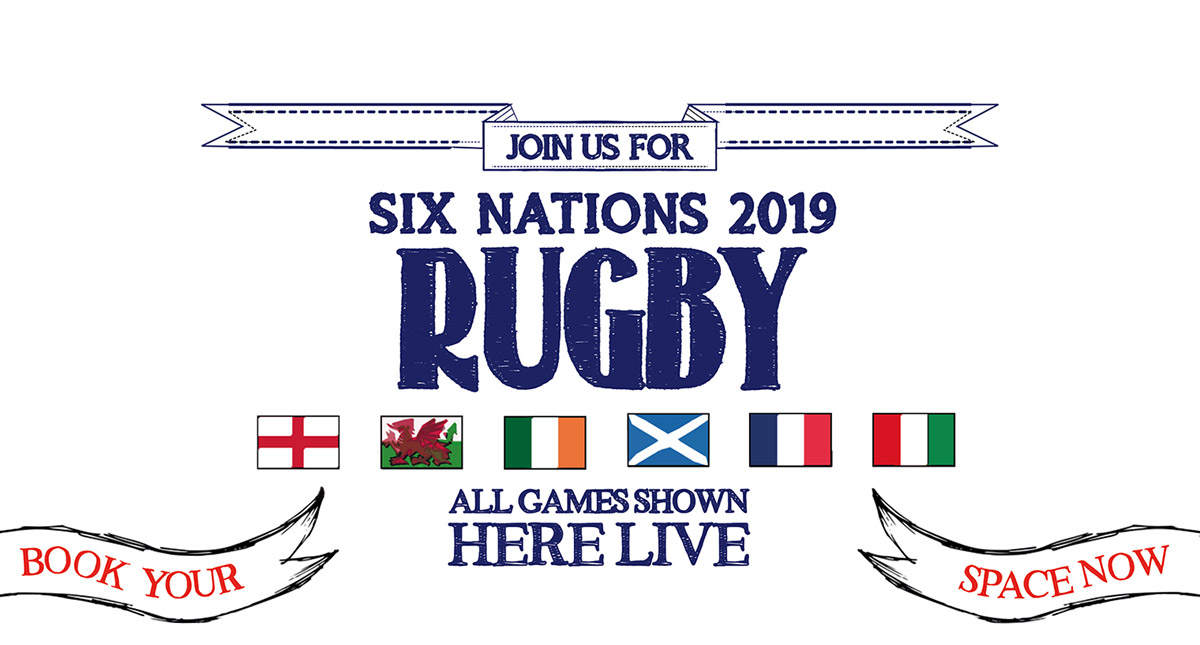 Watch the 6 Nations at The White Horse in Leamington Spa